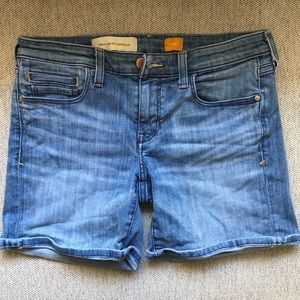 Anthropologie Pilcro Mid Rise Jean Shorts